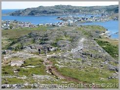 Looking Back on Fogo Island from Brimstone Head