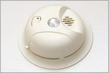 unhappy smoke detector