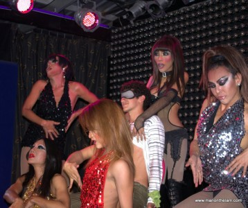 Ladyboys Dancing
