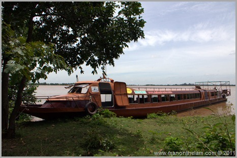 Slow boat from Phnom Penh, Cambodia to Chau Doc, Vietnam