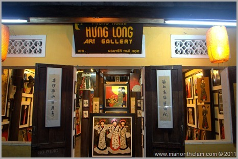 Hung Long Art Gallery, Hoi An, Vietnam