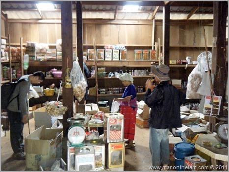Shop on Hill tribe trek, Northern Thailand