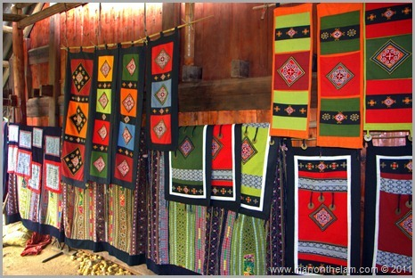 Traditional crafts for sale, Sapa Vietnam