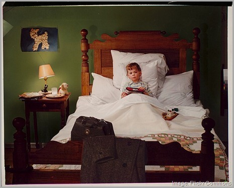 finding your passion -- boy in bed
