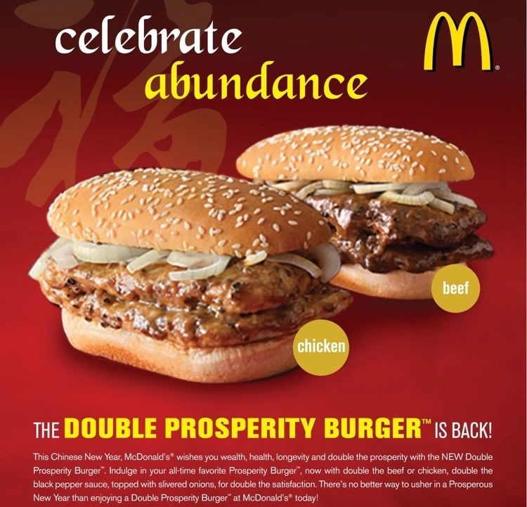 the road to prosperity is paved withburgers