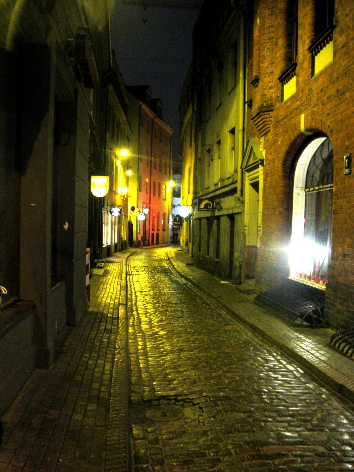 Riga Latvia Old Town