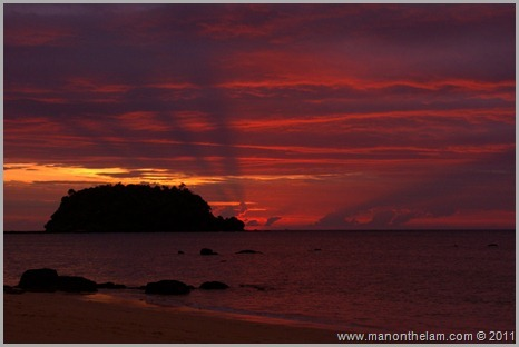 Sunset, Ko Libong, Thailand Best of Travel 2011 Photo