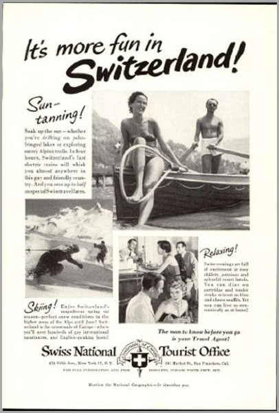it's more fun in switzerland brochure 1951