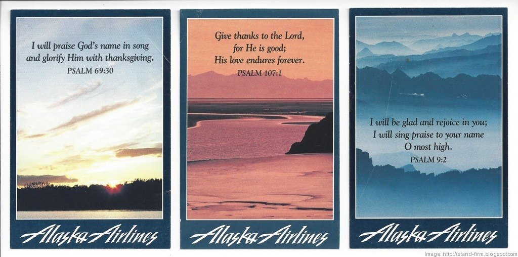 On a Wing and a Prayer: Alaska Airlines Loses Its Religion