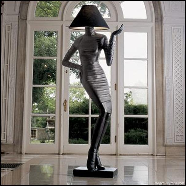 Madamoiselle floor lamp