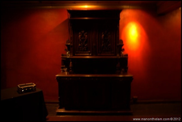 Antique hutch -- ghost hunting -- American Ghost Adventures, Orlando, Florida - Aeroplan