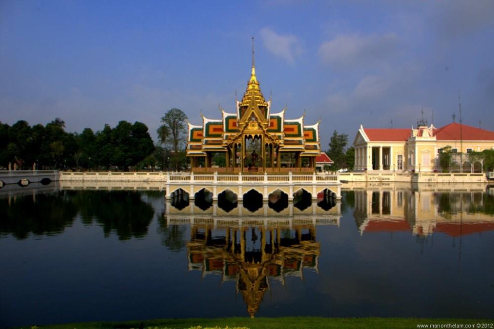 Cruising from Ayutthaya to Bangkok with @GetYourGuide
