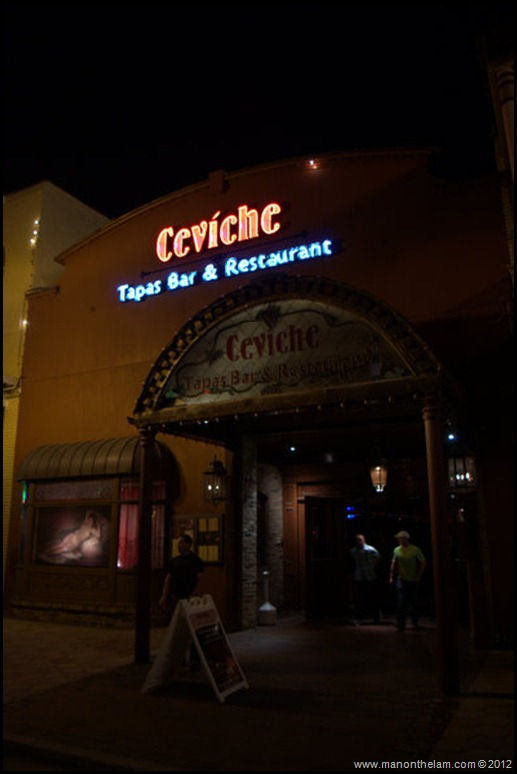 Ceviche Tapas bar and restaurant -- Church Street, downtown Orlando American Ghost -- Adventures, Orlando, Florida - Aeroplan