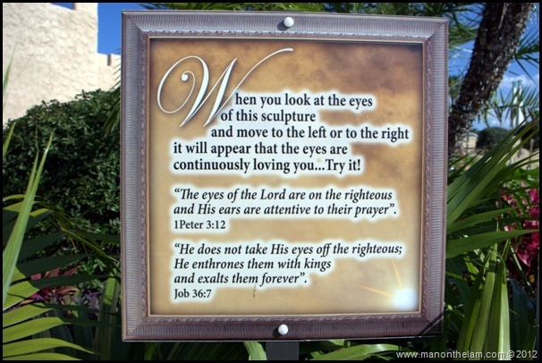 Travel Photo of the Week -- Face Time with Jesus
