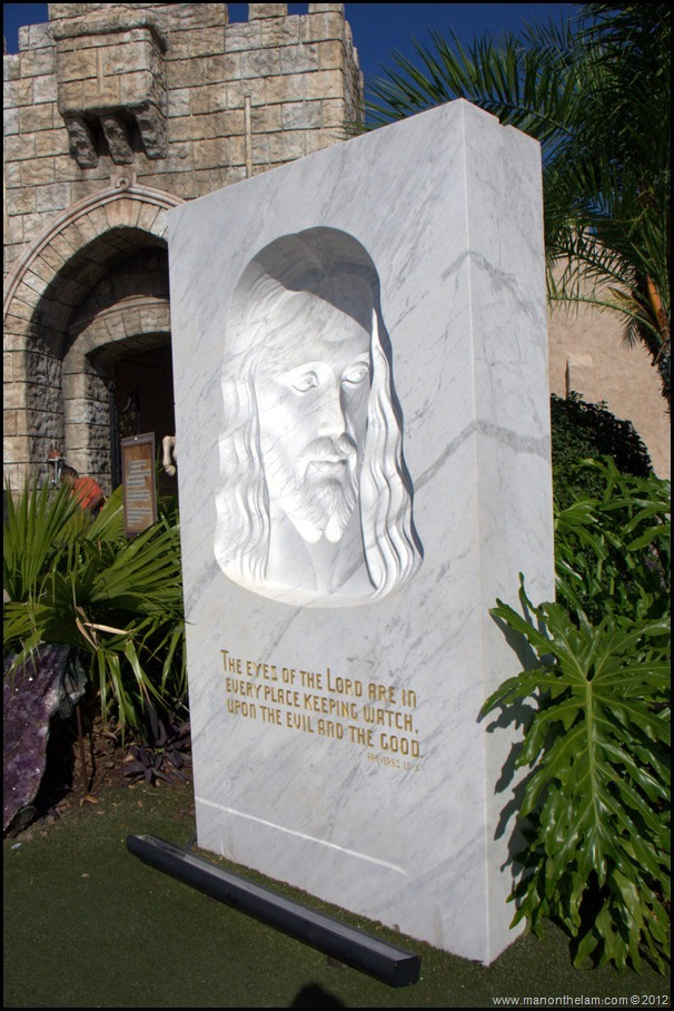 The Face of Jesus Statue right photo image - The Holy Land Experience - Orlando, Florida - Aeroplan Welcome Aboard Event