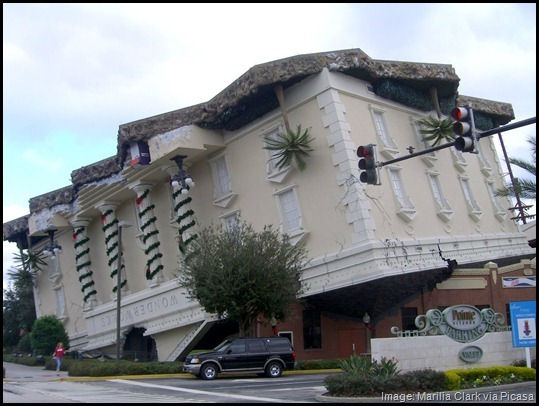 Wonderworks upside down building, Quirky Things to do in Orlando, Florida