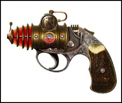 Colonel James Fizziwig's Concealable Ossotronic Disrupter -- Steampunk