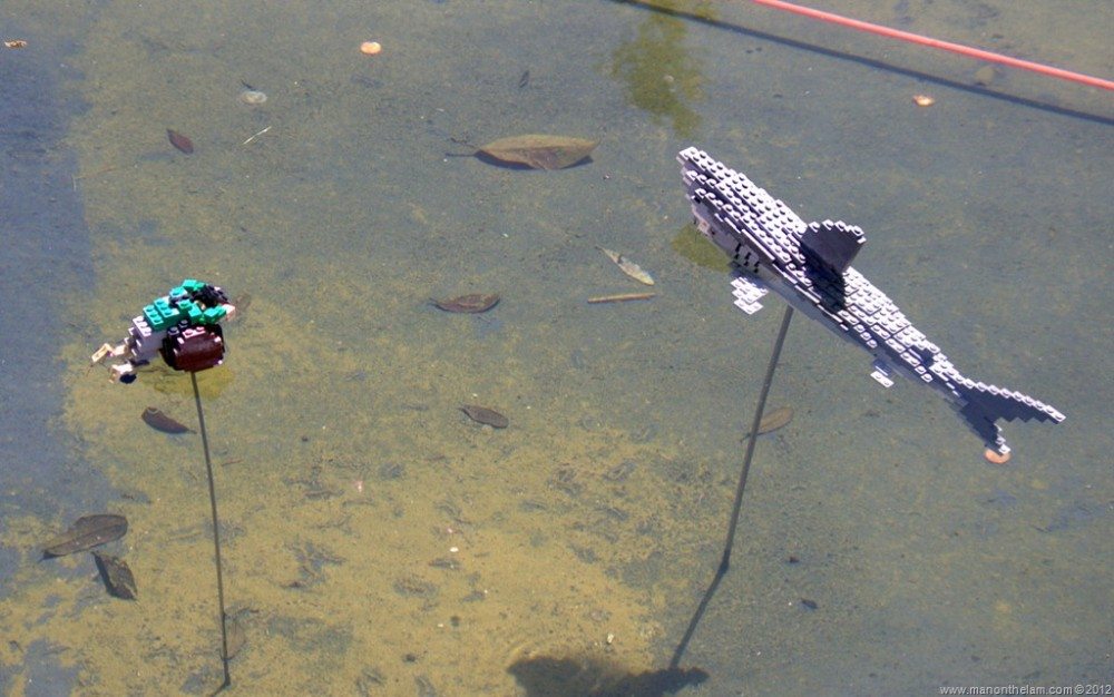Lego-shark-and-man-floating-in-ocean-Miniland-USA-Legoland-Florida-Aeroplan-Welcome-Aboard-Event.jpg