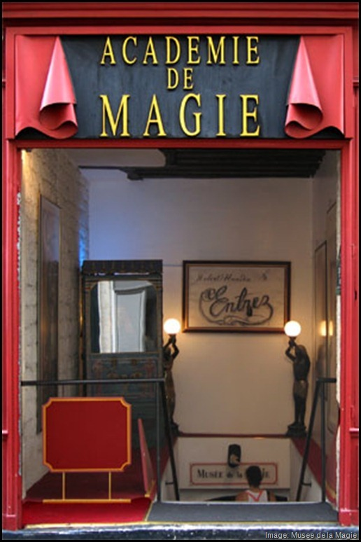 Museum of Magic, Paris France