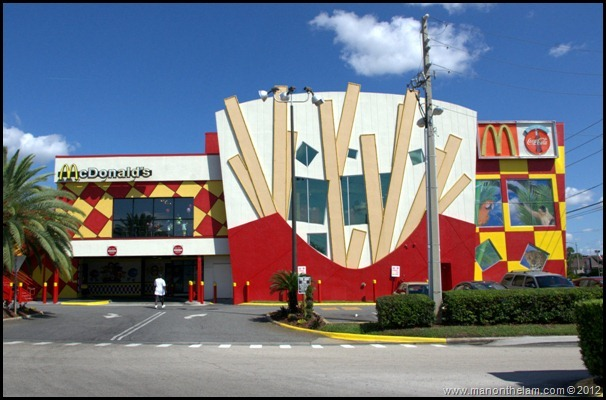 Outside of the World's Largest McDonald's, Orlando, Florida Aeroplan Welcome Aboard Event