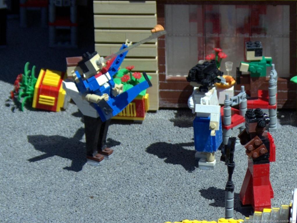 12 Mildly Disturbing Miniland Scenes From Legoland Florida Man On The Lam Travel Lifestyle Blog