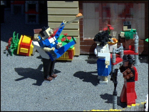 lego restaurant, Waiter saves choking man with Heimlich maneuver, Miniland USA, Legoland Florida, Aeroplan Welcome Aboard Event