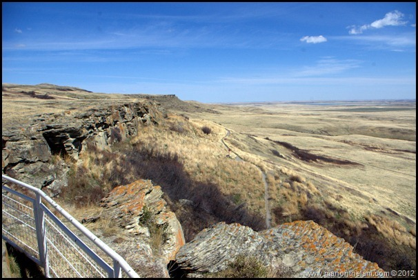 Head-Smashed-In Buffalo Jump, Alberta, Canada 030