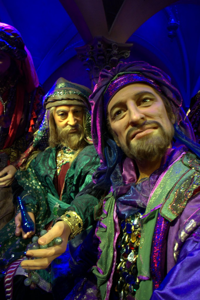 Wax Disciples at the Last Supper -- The Holy Land Experience -- Orlando, Florida -- Aeroplan Welcome Aboard Event