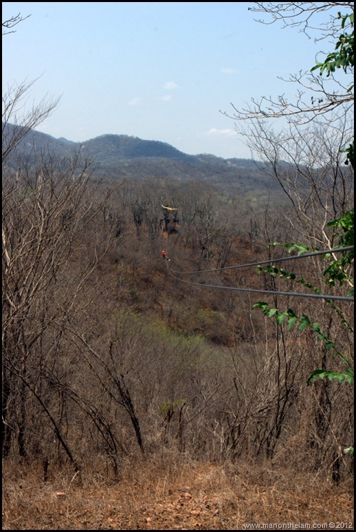 It's a long way down -- Huana Coa Canopy Adventure Zip Line Tour, Mazatlan, Mexico, #GoMazatlanNow
