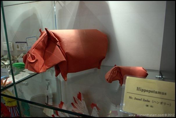 Japan Origami Museum -- Narita Airport -- Tokyo, Japan 48