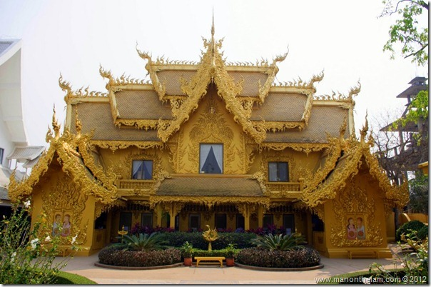 Ornate washrooms -- Wat Rong Khun, White Temple, Chiang Rai, Thailand