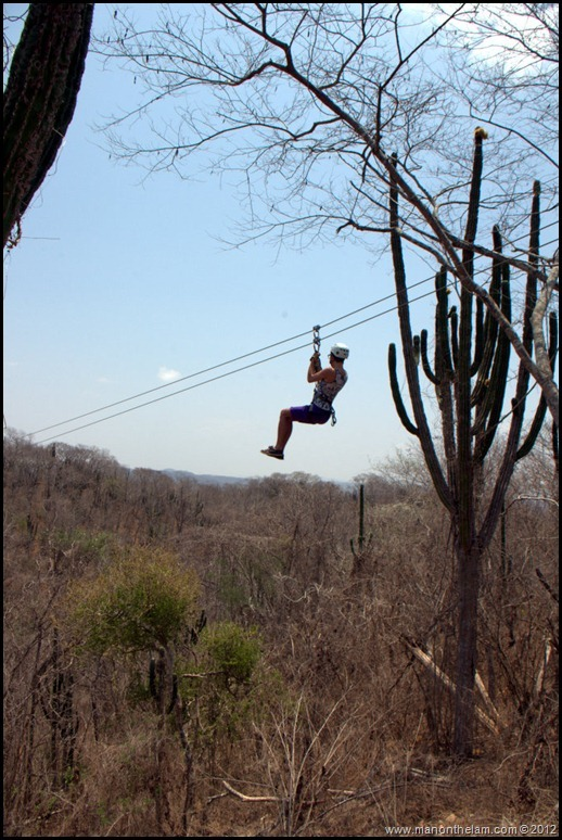 Soaring through the skies -- Huana Coa Canopy Adventure Zip Line Tour, Mazatlan, Mexico, #GoMazatlanNow