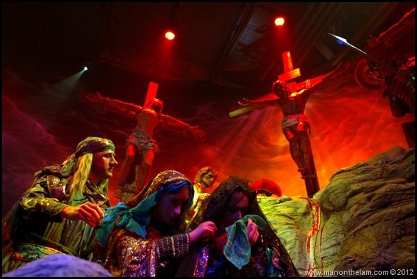 The Cruxifixion of Jesus Christ, Christus Wax Figures, Holy Land Experience