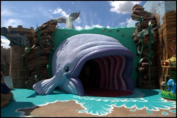 The Whale from Jonah and the Whale, Holy Land Experience, Smile of a Child Adventure Land