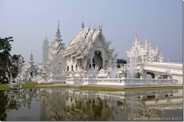 Wat Rong Khun, White Temple, Chiang Rai, Thailand 2
