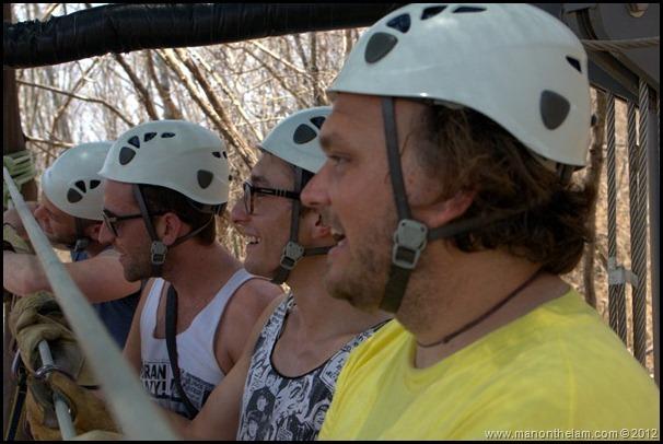 Watching the action -- Huana Coa Canopy Adventure Zip Line Tour, Mazatlan, Mexico, #GoMazatlanNow