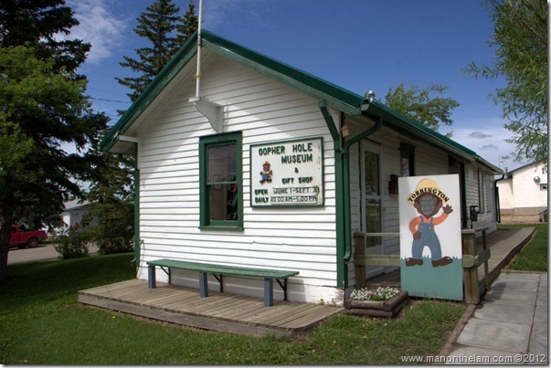 Gopher Hole Museum, Torrington Alberta