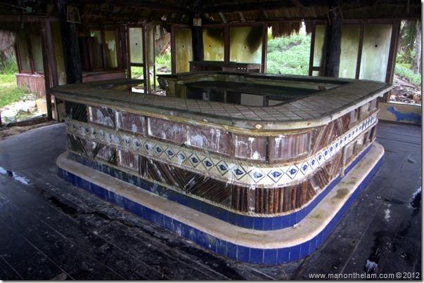 deserted bar and restaurant -- Abandoned Beach Resort, Club Maeva Tulum, Xpuha, Riviera Maya, Mexico 177