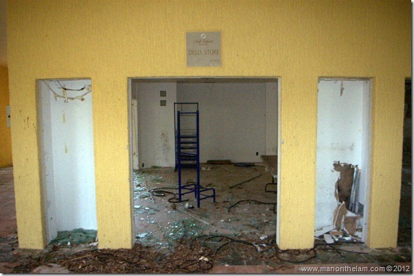deserted Deli -- Abandoned Beach Resort, Club Maeva Tulum, Xpuha, Riviera Maya, Mexico 233