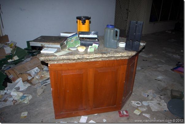 deserted employee lounge -- Abandoned Beach Resort, Club Maeva Tulum, Xpuha, Riviera Maya, Mexico 258