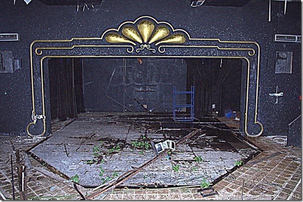 deserted theatre -- Abandoned Beach Resort, Club Maeva Tulum, Xpuha, Riviera Maya, Mexico 267-002