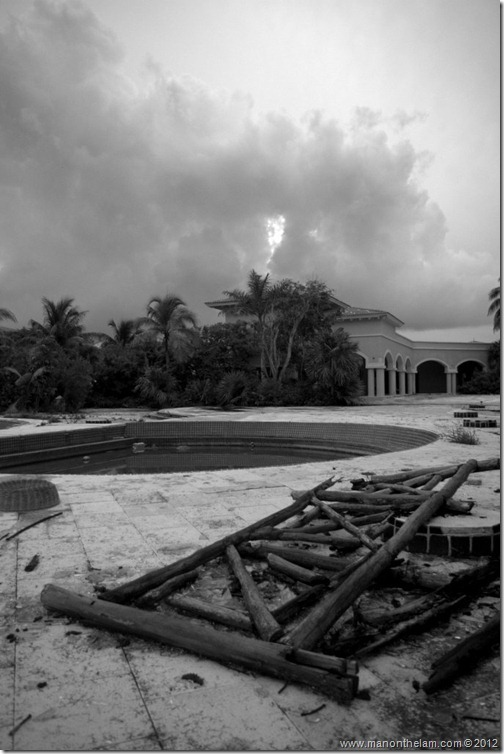 Abandoned Beach Resort, Club Maeva Tulum, Xpuha, Riviera Maya, Mexico 294