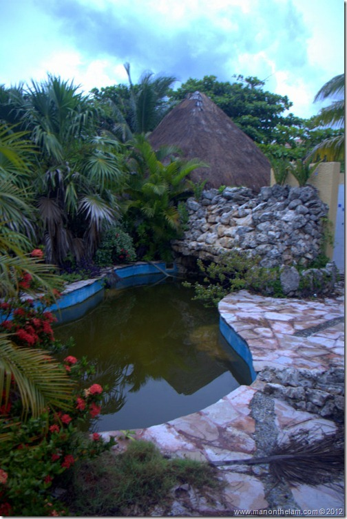 outside jacuzzi -- Abandoned Beach Resort, Club Maeva Tulum, Xpuha, Riviera Maya, Mexico 330