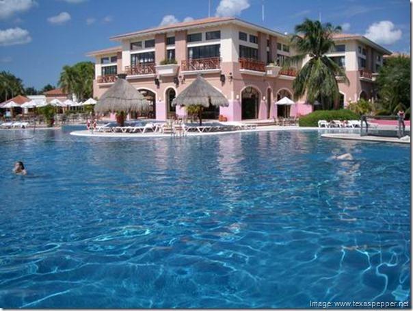 Main Building, Club Maeva Tulum, Riviera Maya, Mexico