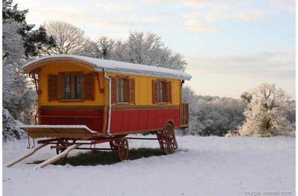 Authentic Gypsy Vardo Caravan