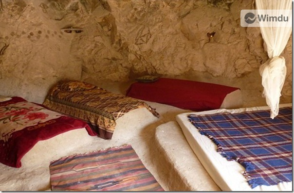 Cave hotel in Bethleham