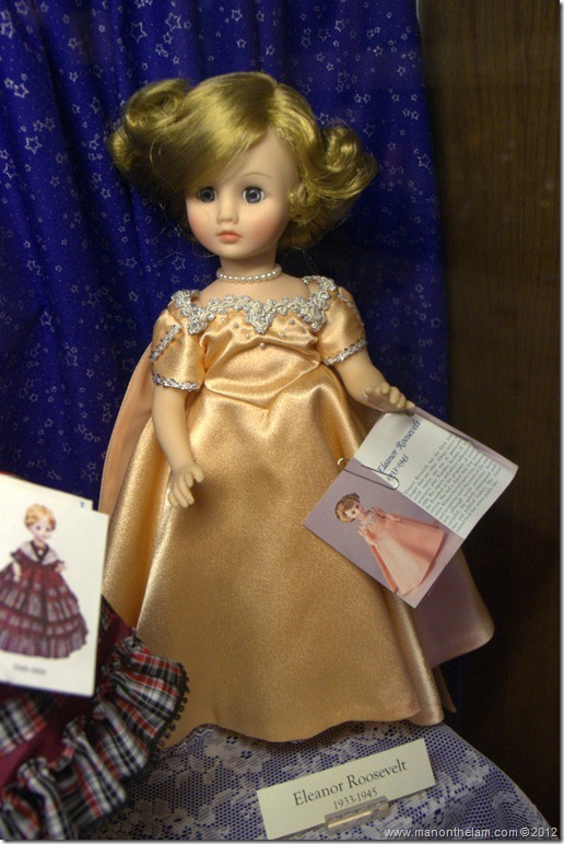 Eleanor Roosevelt doll