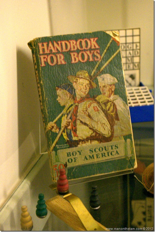 Vintage Handbook for Boys -- Boy Scouts of America