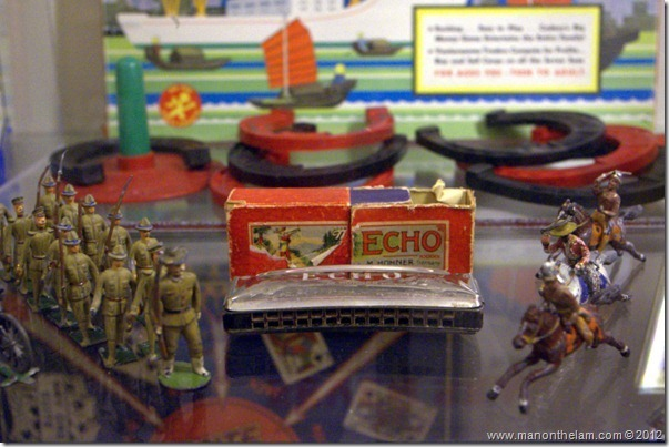 Echo Harmonica and toy soldiers