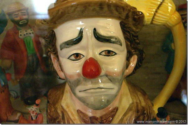hobo clown mug